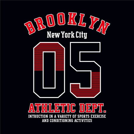 sport,athletic tee,element,vintage typography vector illustration for t shirt