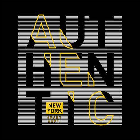 authentic sport typography tee shirt design,vector illustration