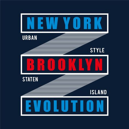 urban style new york city typography design tee  t shirt ,vector illustration