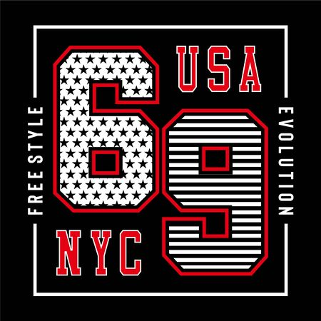 new york city typography vector illustration for t shirt print and other uses,vector