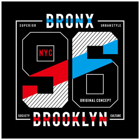 new york city typography design print design for t-shirt and other uses -vector 矢量图像