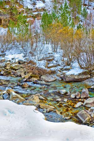 Arazas River, Ordesa Valley, Ordesa y Monte Perdido National Park, Biosphere Reserve of Ordesa Vi Stock fotó