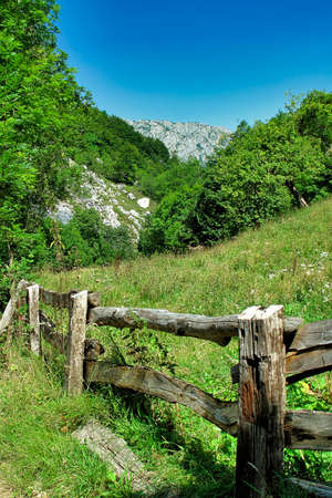 Hills and Valleys Landscape, Redes Natural Park, Asturias, Spain, Europe
