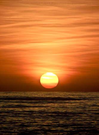 tyrrhenian: Sunset on the Tyrrhenian Sea