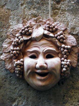 Dionysus mask Stock Photo - 12222392