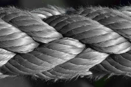 bonding rope: Rope, close-up photo Stock Photo