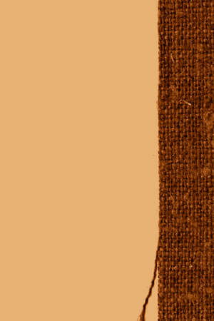 loopable: Textile backdrop, fabric fashion, rust canvas, faded material, art background Stock Photo