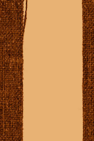bagging: Textile structure, fabric decoration, coffee canvas, aged material bagging background