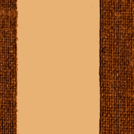 canvas element: Textile sack, fabric element, camel canvas, fiber material retro background