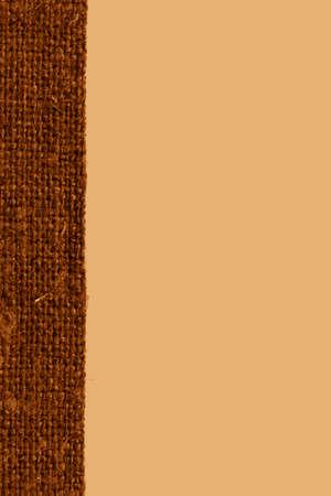 ochre: Textile linen, fabric image, ochre canvas, wallpaper material art background