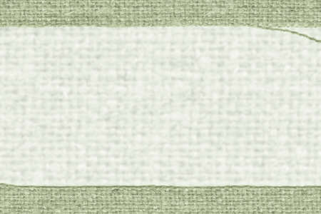 snip: Textile frame, fabric style, moss canvas, clean material closeup background Stock Photo