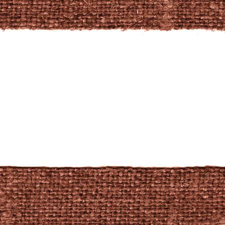 textile image: Textile thread, fabric image, cinnamon canvas, worn material vintage background