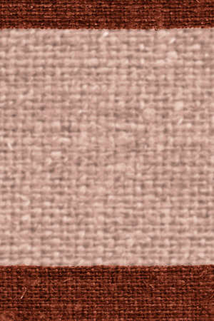 snip: Textile structure, fabric burlap, cinnamon canvas, stylish material paper background Stock Photo