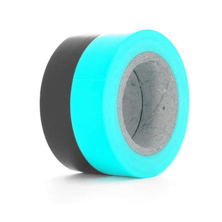sellotape: Protecting sticky insulating tape coils.