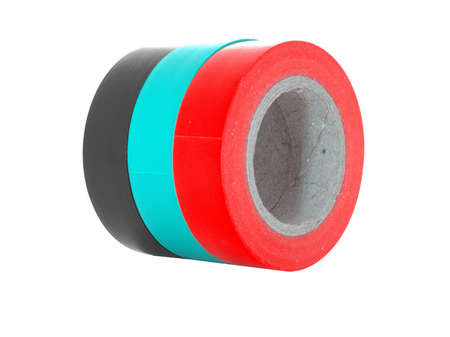 protective: Protective sticky insulation tape coils.