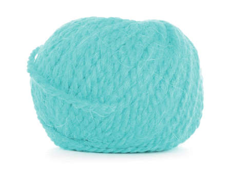 Ball of yarn, tangled texture Stock Photo