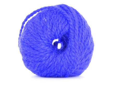 skein: Ball of yarn, braided skein Stock Photo