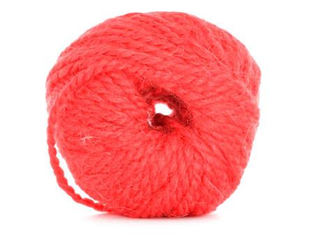 Ball of yarn, braided texture