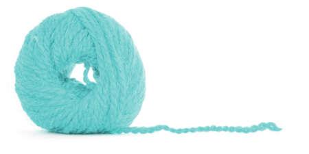 Ball of thread, braided texture Stock Photo