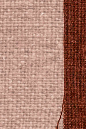 weft: Textile tablecloth, fabric concepts, coffee canvas, fiber material design background