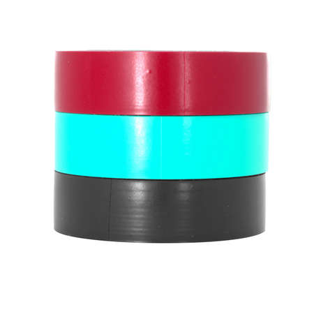 coils: Color adhesive insulation tape coils.