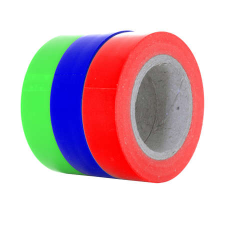 sellotape: Electrical tape reels