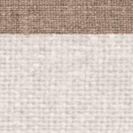 bagging: Textile structure, fabric industry, sandy canvas, hemp material rough background