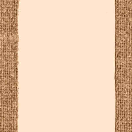 textile image: Textile yarn, fabric image, fawn canvas, stained material blank background