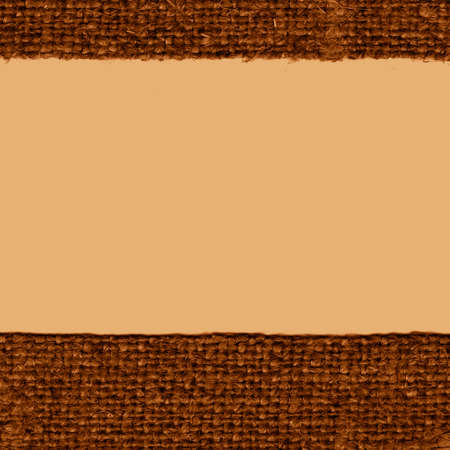 canvas element: Textile thread, fabric element, brown canvas, crisscross material old-fashioned background