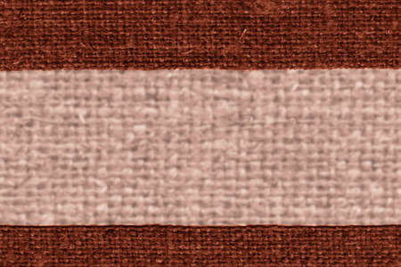 canvas element: Textile yarn, fabric element, umber canvas, light material design background Stock Photo