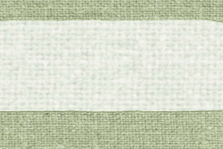 canvas element: Textile yarn, fabric element, malachite canvas, obsolete material old background Stock Photo