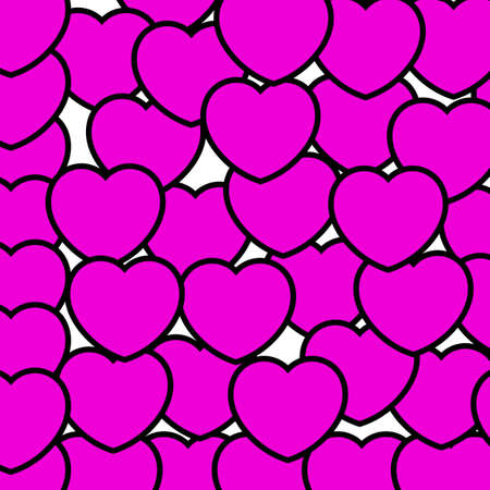 shuffle: Color background for Saint Valentines day, greeting decoration