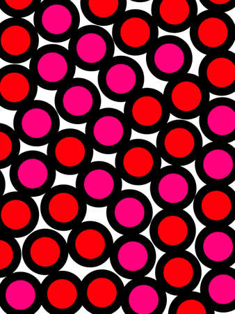 Orbs background and irregular pattern for your design