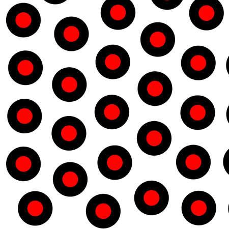 Discs backgrounds with irregular pattern for modern illustration