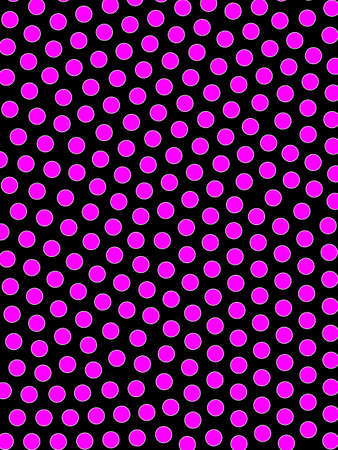 Circle background with abstract pattern for modern illustration Stock Photo