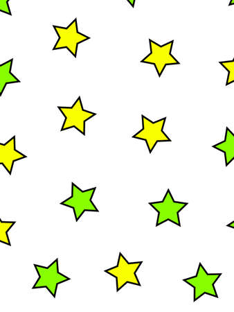 Star background with multiple particles for modern design