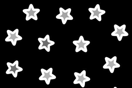 disorganization: Star background based on many shapes for your modern concept Stock Photo