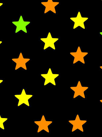Star texture based on multiple elements for your christmas backdrop Stock Photo