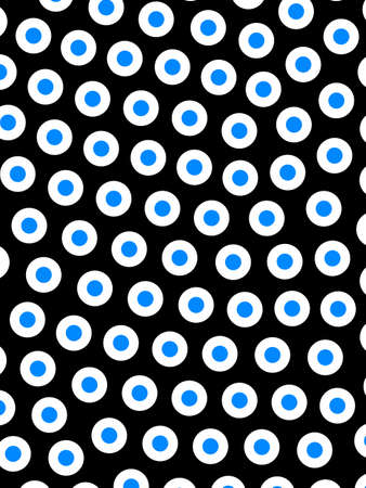 Disks background with abstract pattern for modern design
