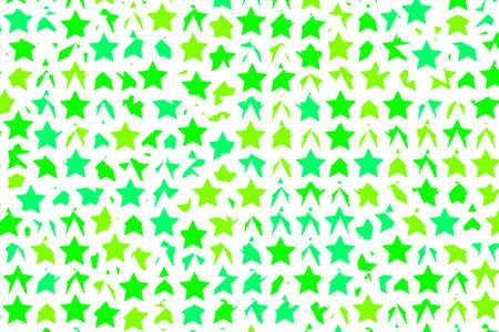 Star template containing random shapes for xmas design