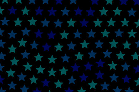 turbulence: Star pattern with multiple elements for christmas design