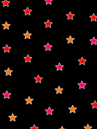 disorganization: Star texture based on many shapes for christmas design