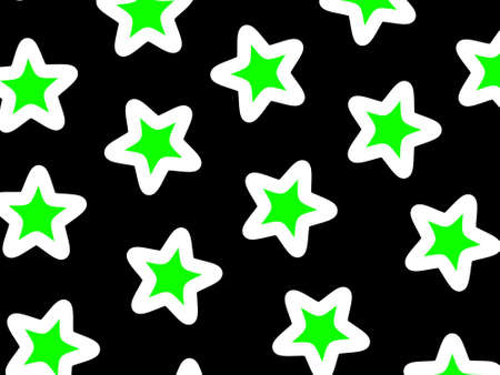 mosaic: Star background based on multiple shapes for your modern backdrop Stock Photo