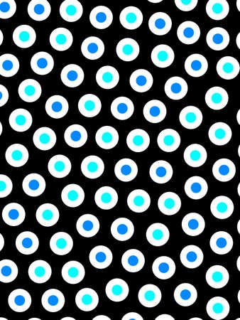 Spheres backdrop with irregular pattern for your illustration