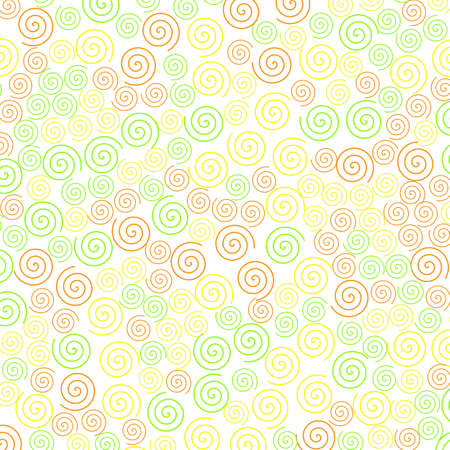 Curl pattern containing random shapes for high definition concept.