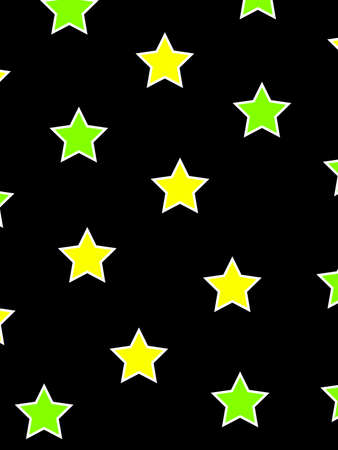 Star pattern containing multiple particles for your christmas illustration Stock Photo