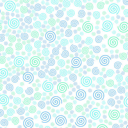 Helix pattern containing random shapes for your modern illustration. Stock Photo