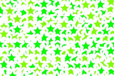 Star pattern based on random elements . new year illustration