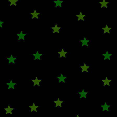 Star pattern with multiple particles . christmas backdrop Stock Photo