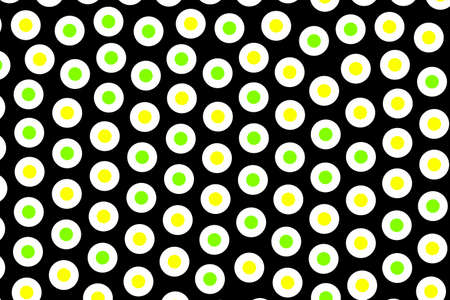 Discs backgrounds and flat pattern for futuristic illustration Stock Photo